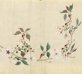 名和華杖 洛北小原有明桜図